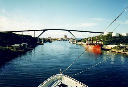 curacao, keycaribe, morrenpoleon, juliana bridge