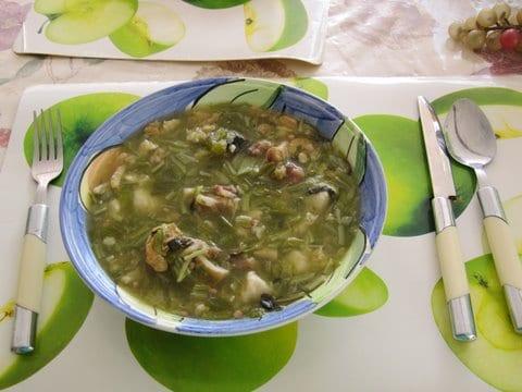 okra soup, cadushi soup, cactus soup, keycaribe, curacao,morrenpoleon