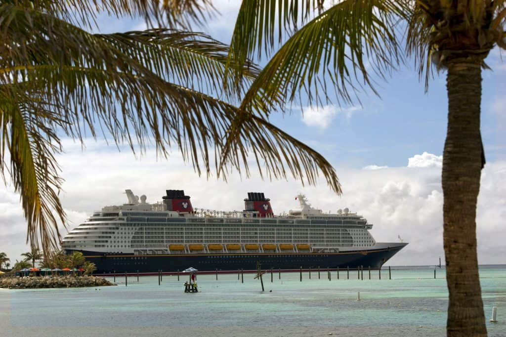 Cruising through castaway cay