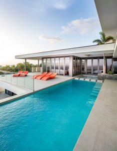 Luxury villa with panoramic views of the Caribbean988