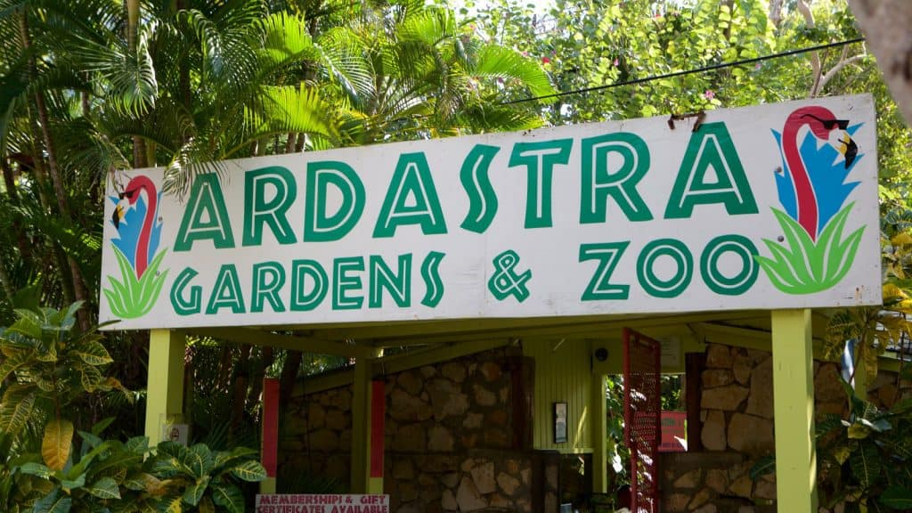 The Ardastra Gardens, Zoo