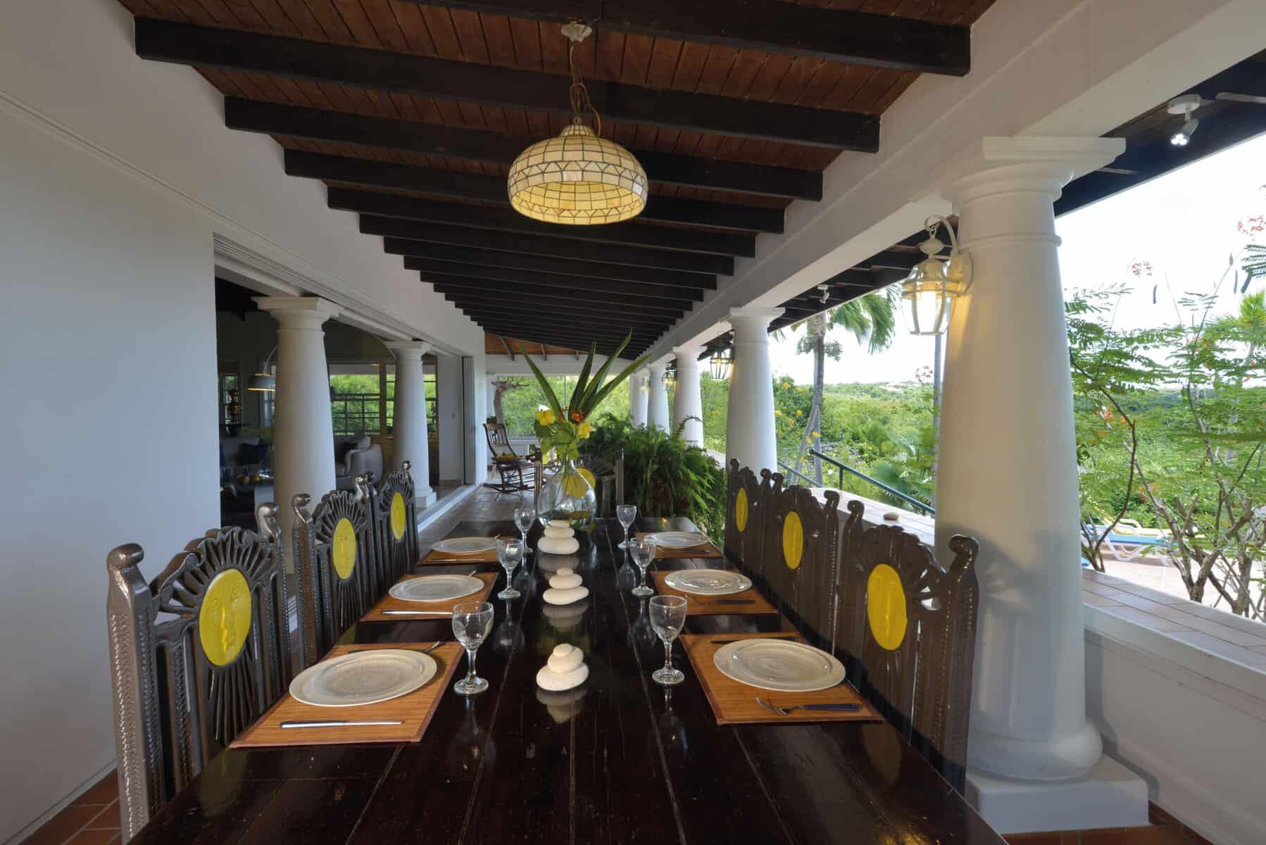 Zeph Terrace dining