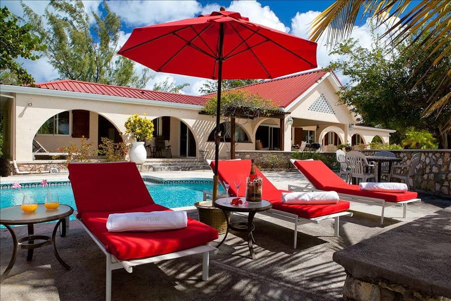 Baie Longue Beach House Terrace