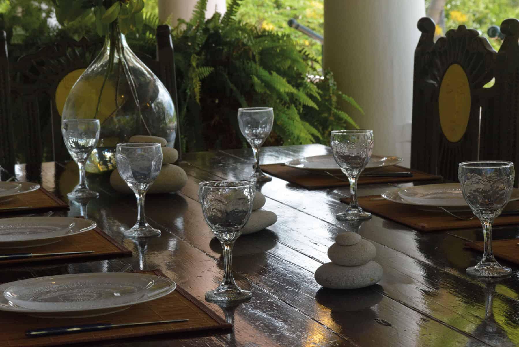 Zeph Table detail