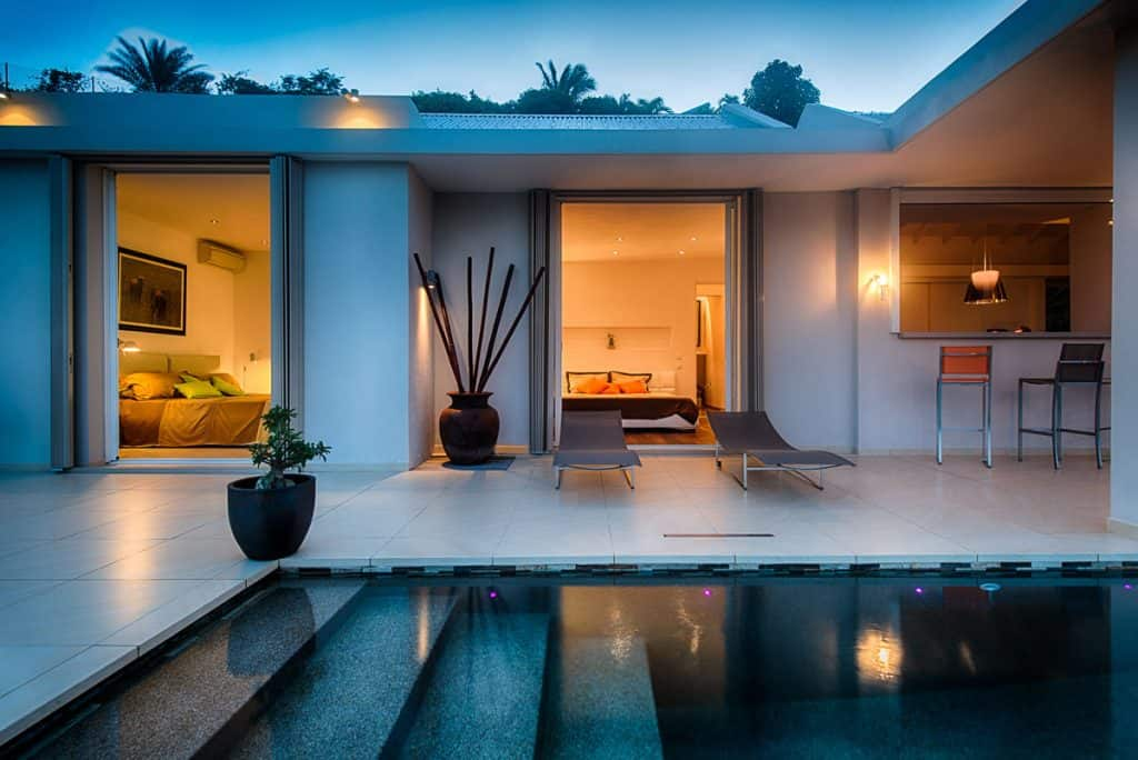 Sunrise bedroom terrace