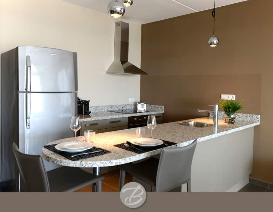 The beach house Curacao kitchen