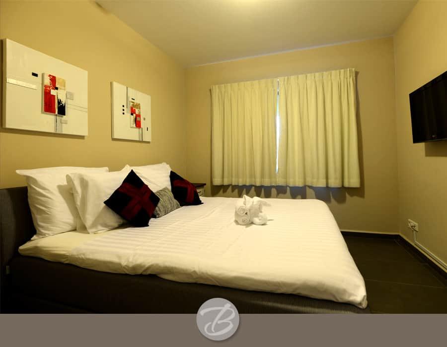 The beach house Curacao bedroom