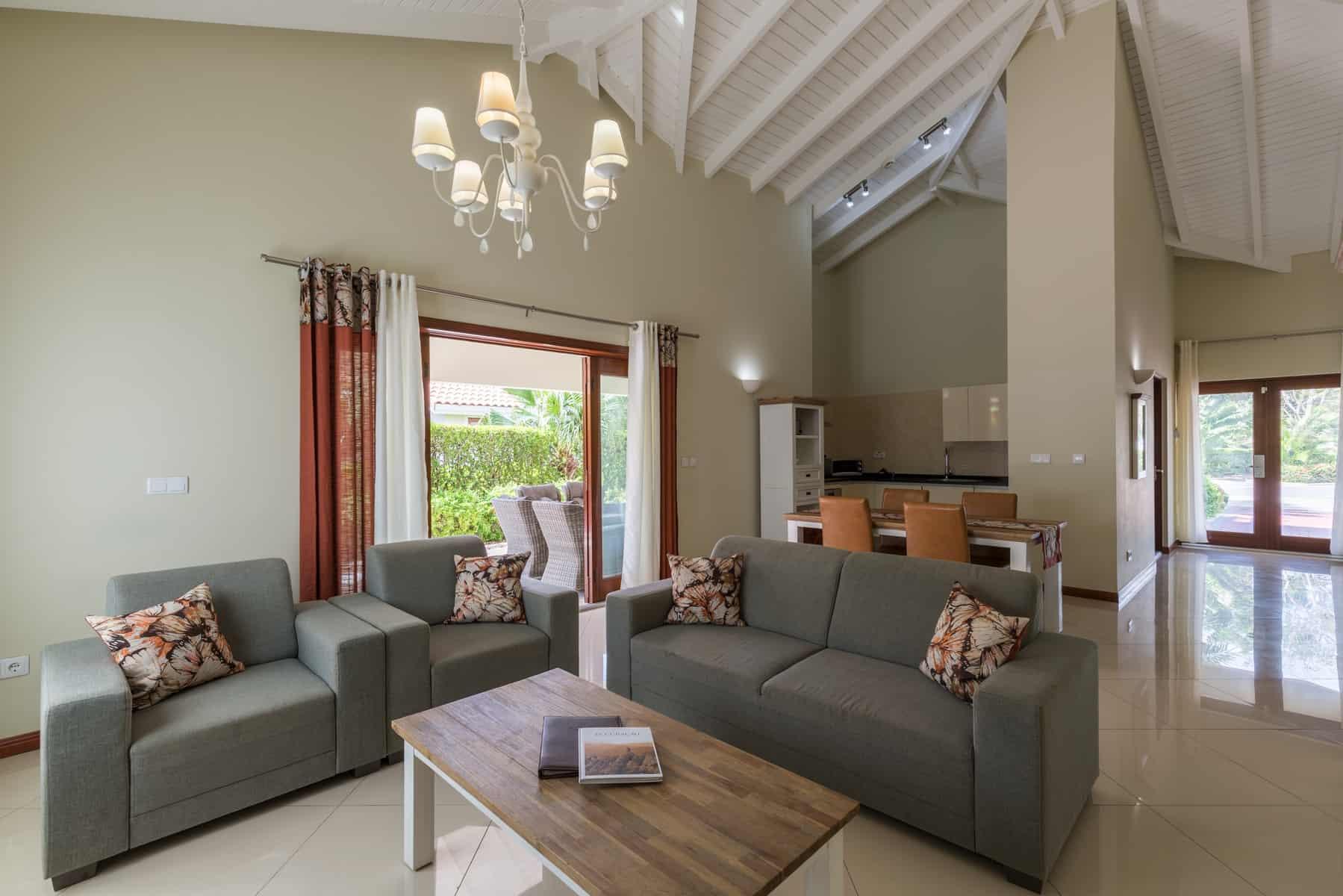 Villa Living, dining & Kitchen Acoya Curacao