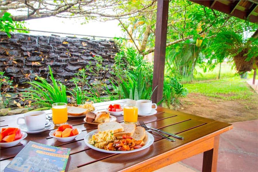 Eco Resort, Breakfast