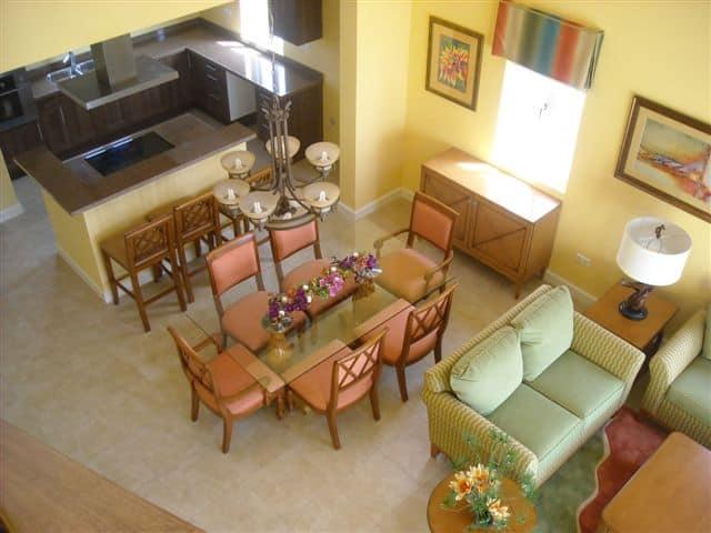 Villa Kalki livingroom