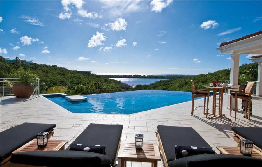 SVP terrace pool