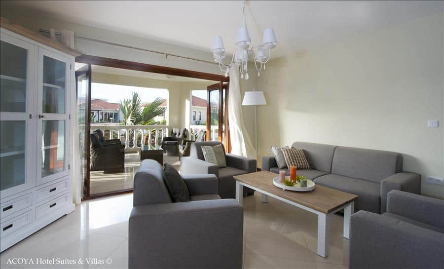 ACOYA Suites livingroom