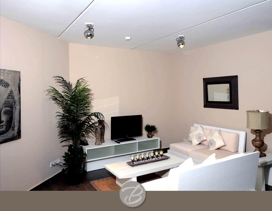 The beach house Curacao Living room