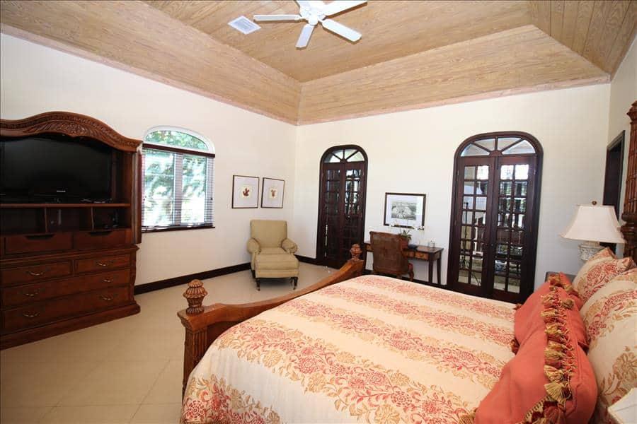 Waterside Master bedroom