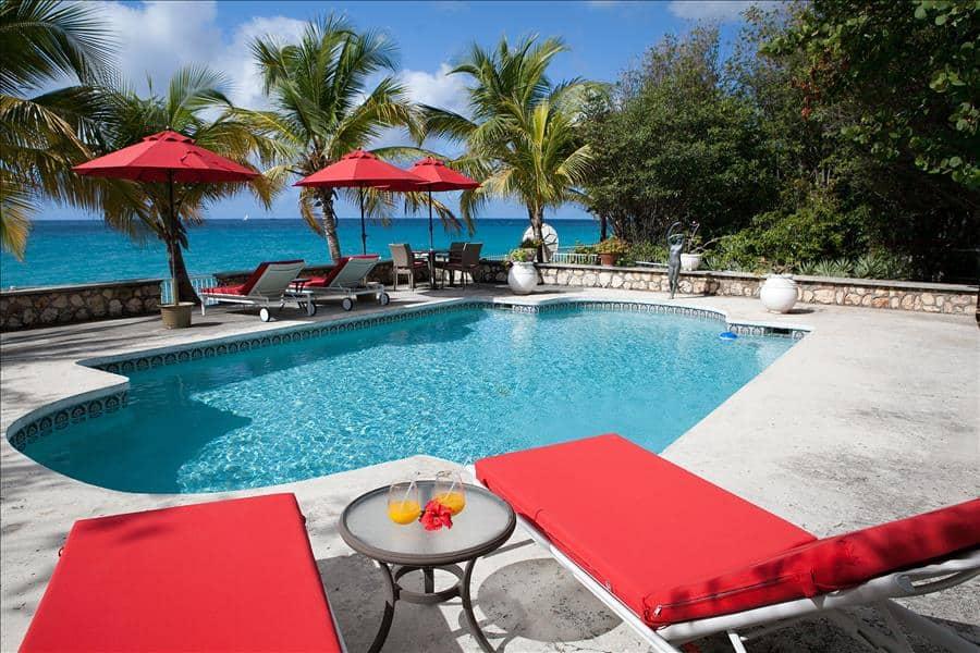 Baie Longue Beach House Pool