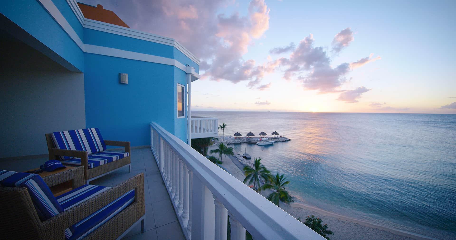 ocean balcony view