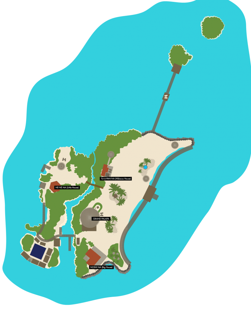 map of island