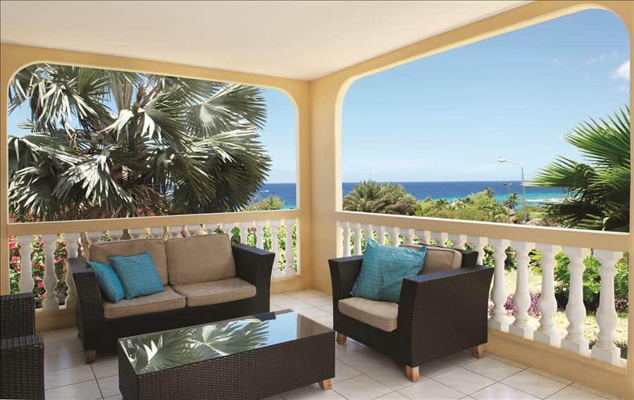lounge Lagun ocean view