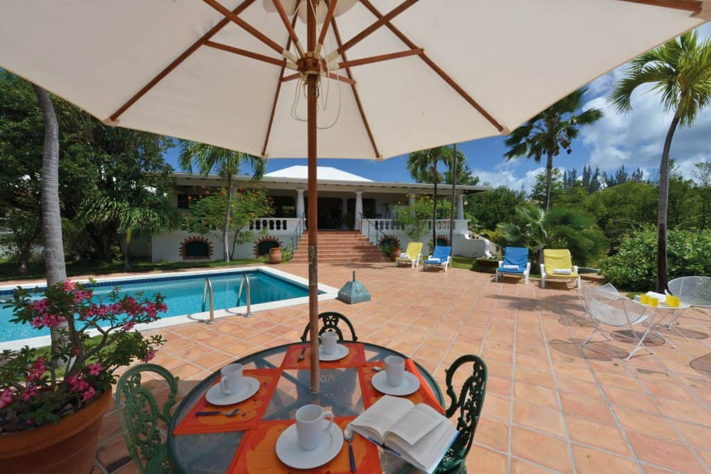 Zeph pool terrace
