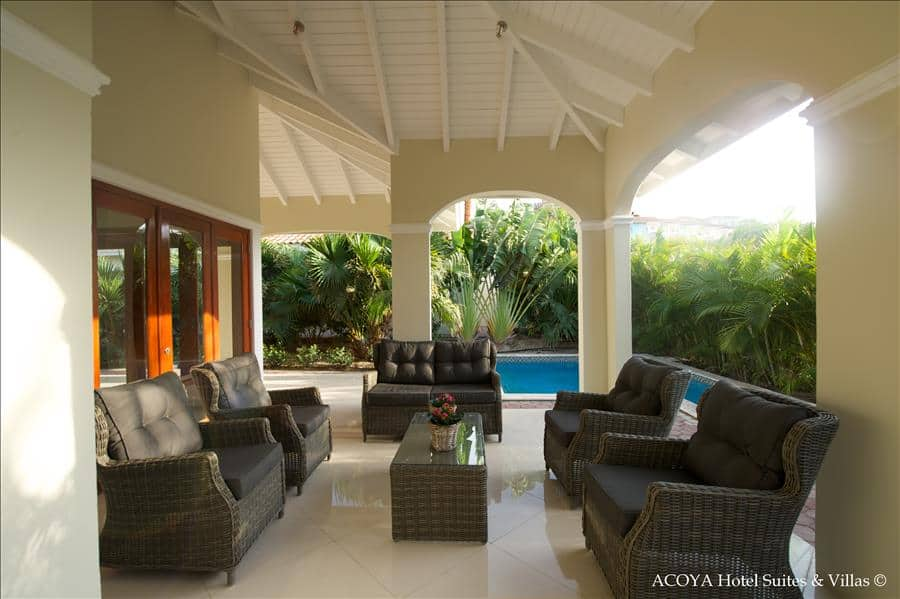 ACOYA Villa Terrace   Pool