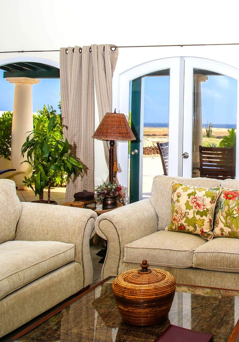 Livingroom ocean view