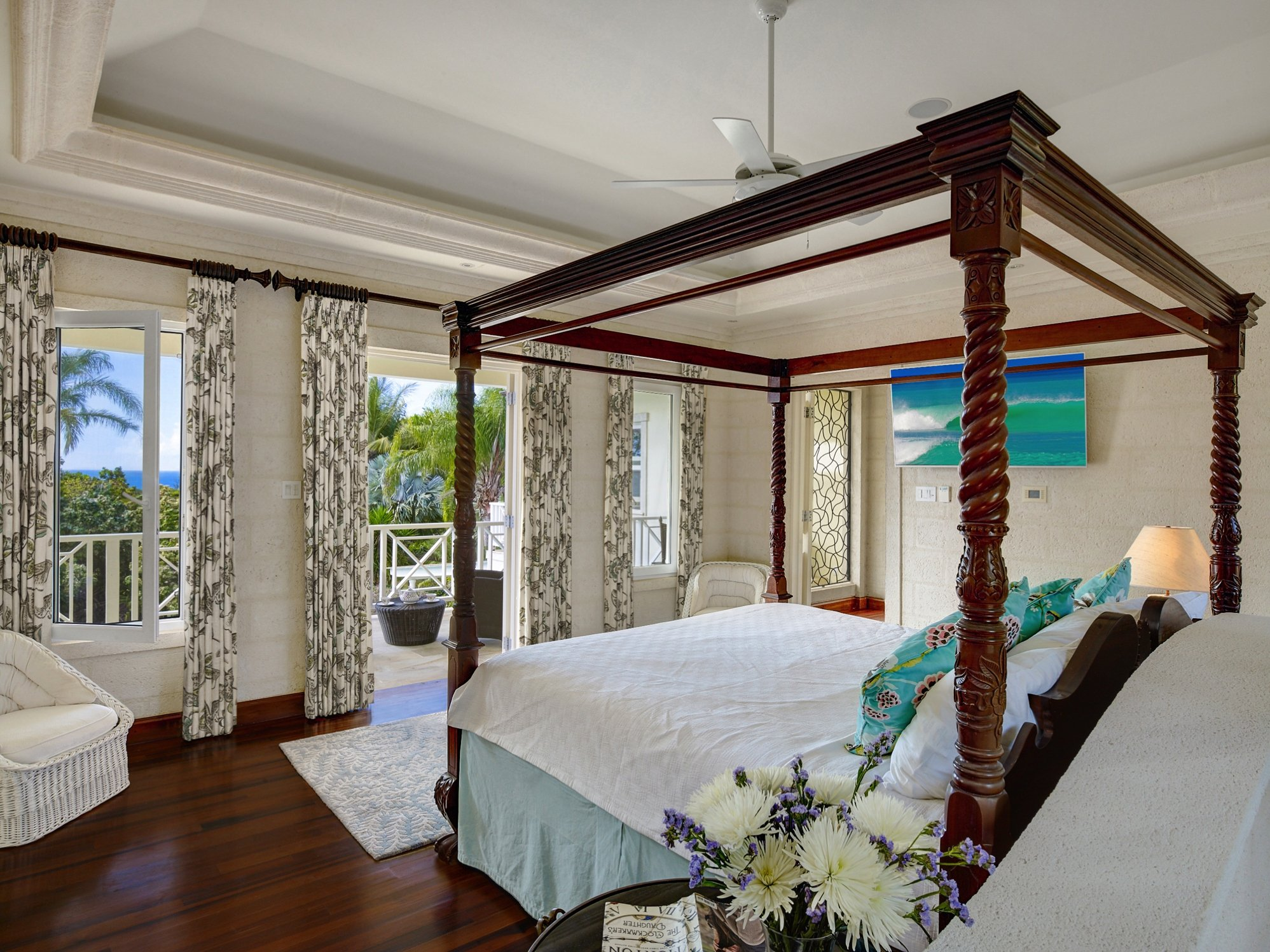 Master Bedroom Westland heights Barbados