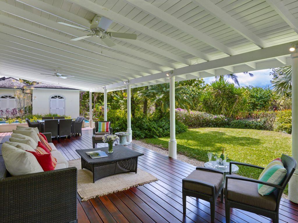 Porch Westland heights Barbados