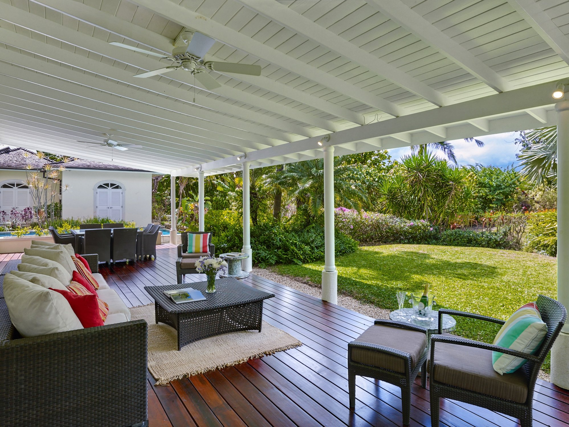 Porch Westland heights Barbados