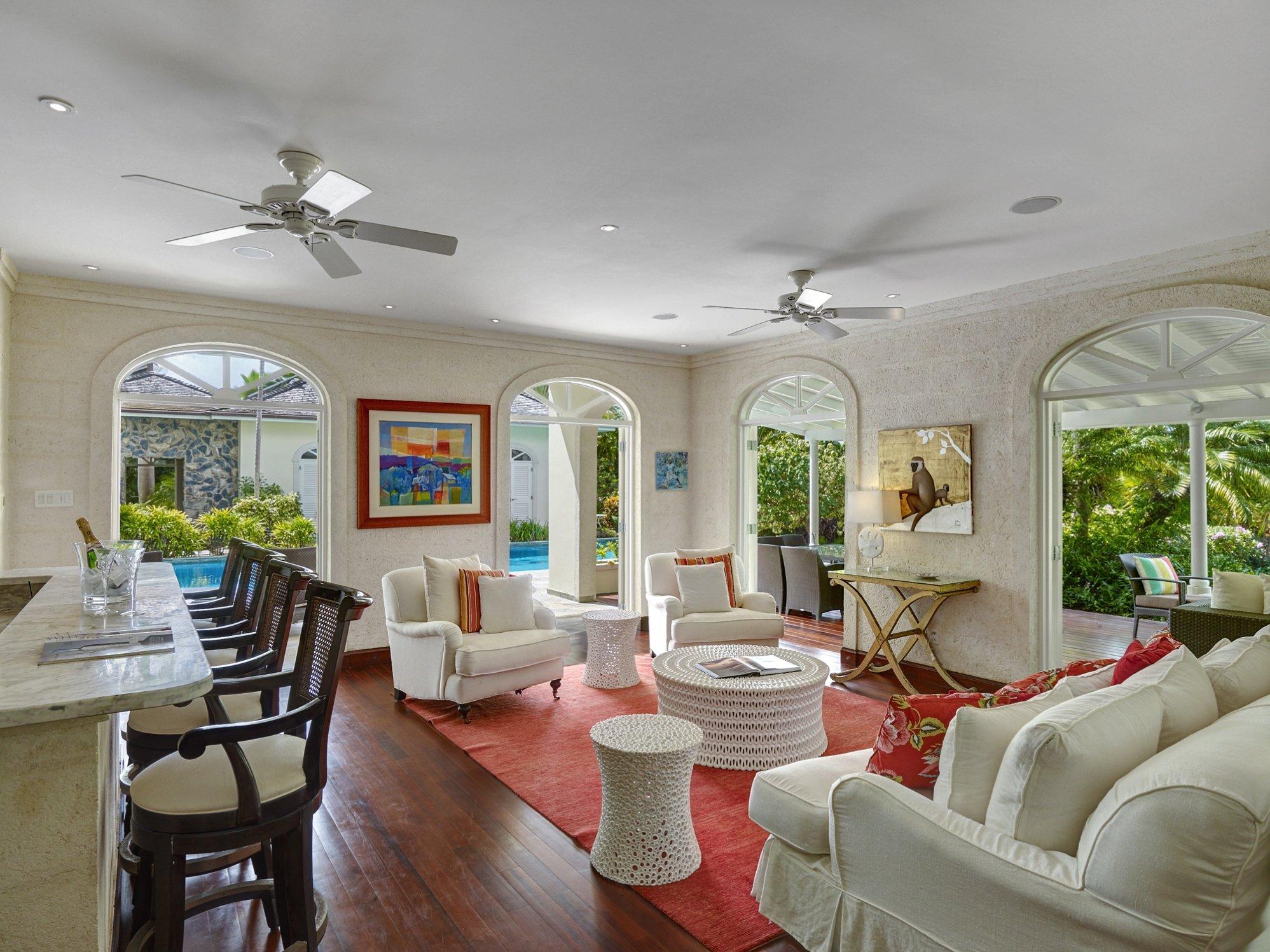 Living room Bar Westland heights Barbados