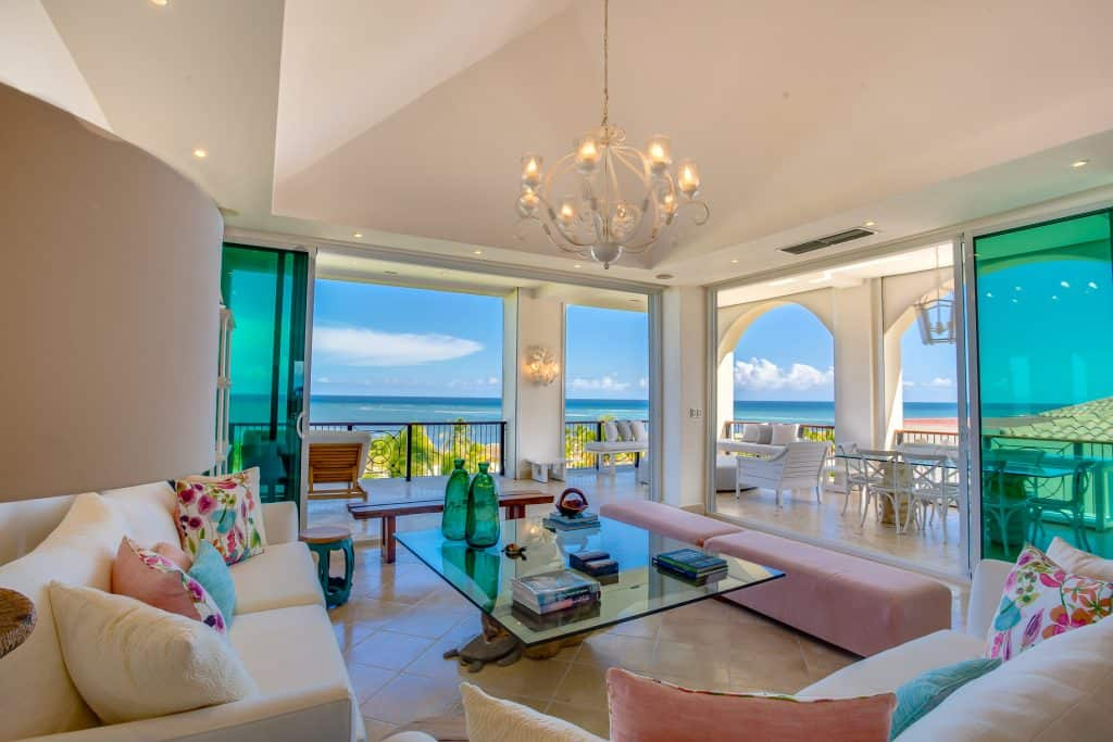 Room with Caribbean view