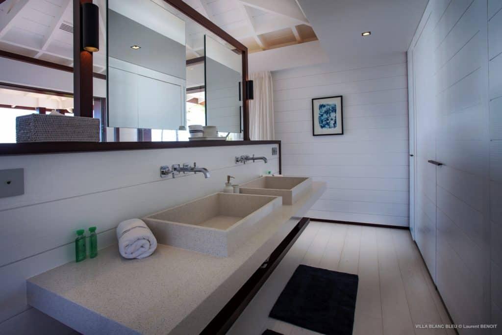 Bathroom Villa Blanc Bleu St Barths