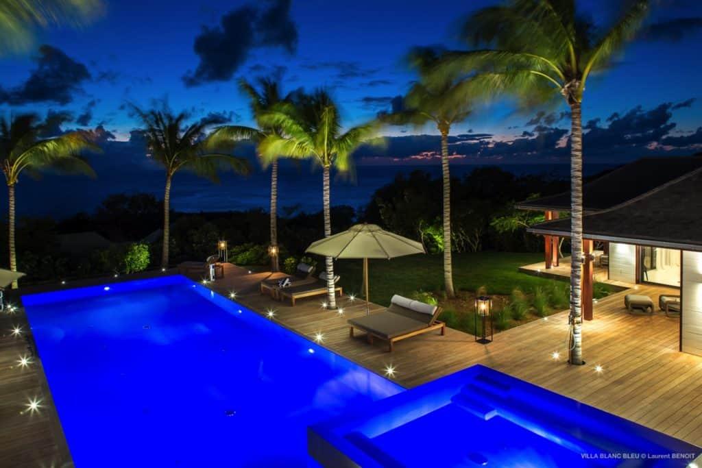 Pool Villa Blanc Blue St Barths