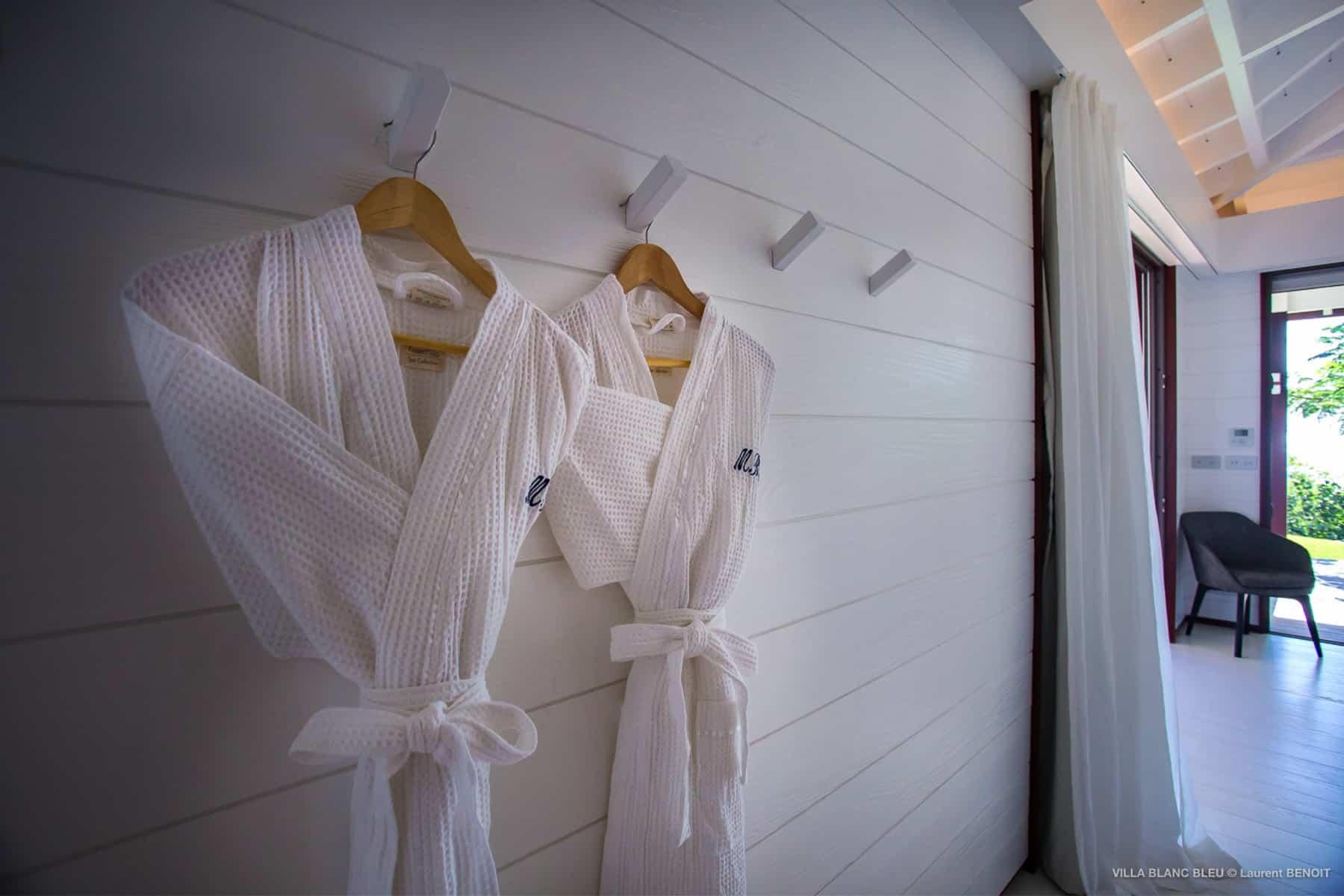 Bath-rope Villa Blanc Bleu St Barths