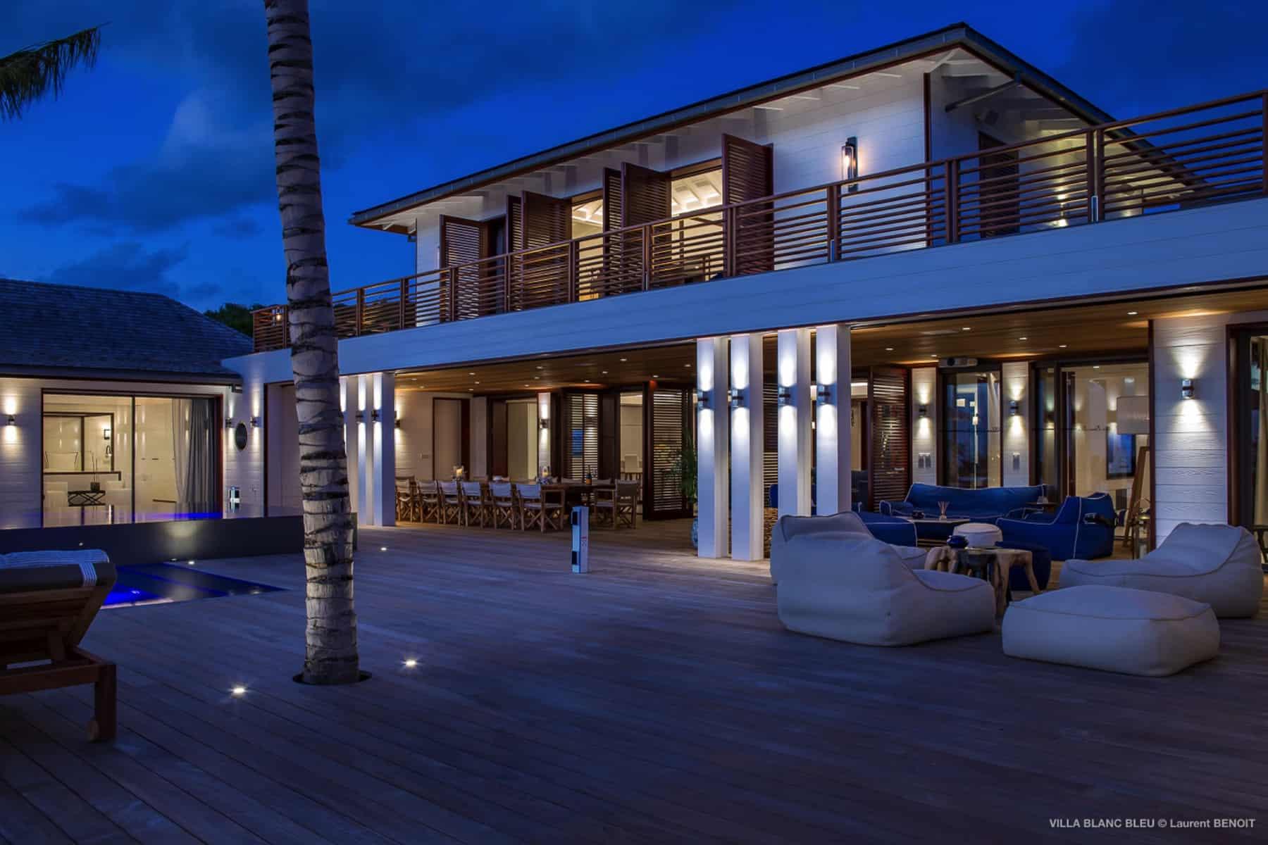 Villa Blanc Blue St Barths