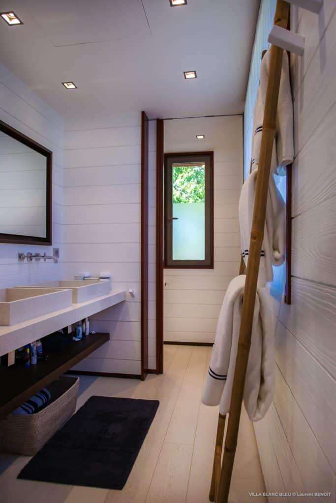 Shower Villa Blanc Bleu St Barths