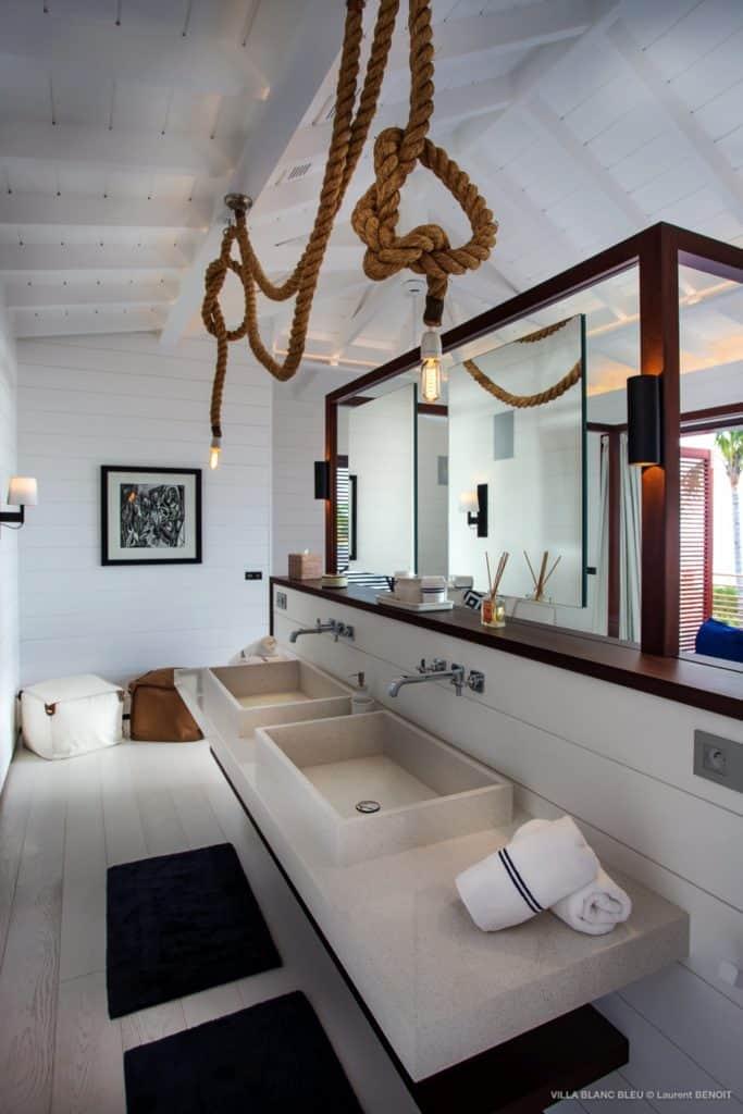 Sink Villa Blanc Bleu St Barths