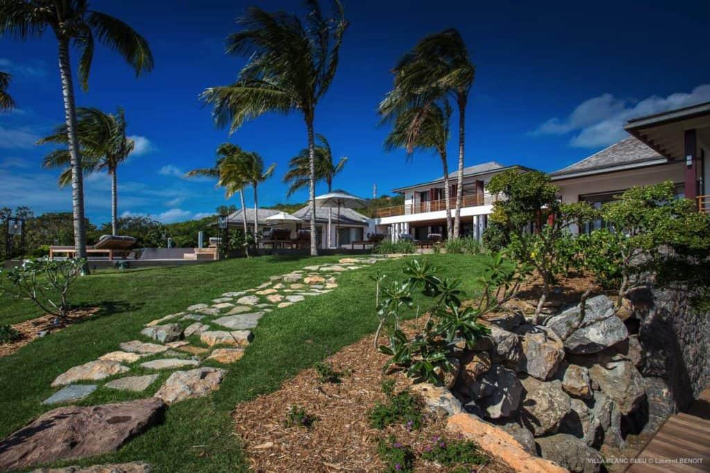 Garden View Villa Blanc Blue St Barths