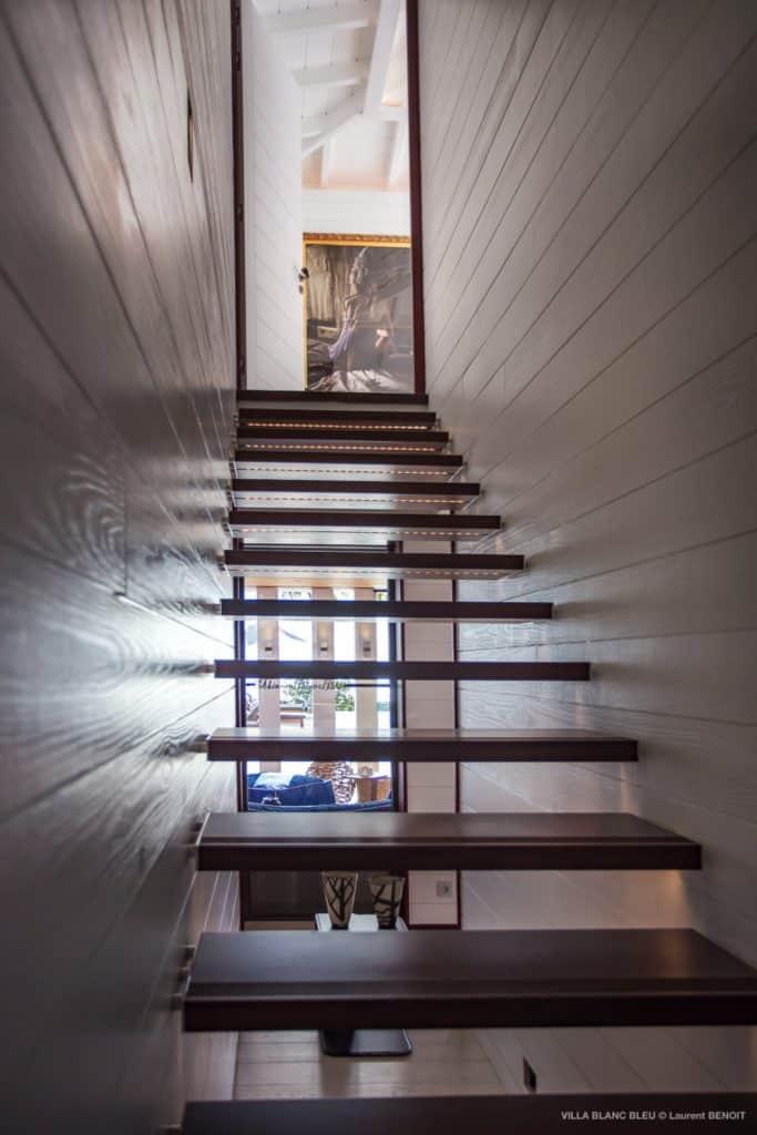 Stairs Villa Blanc Bleu St Barths