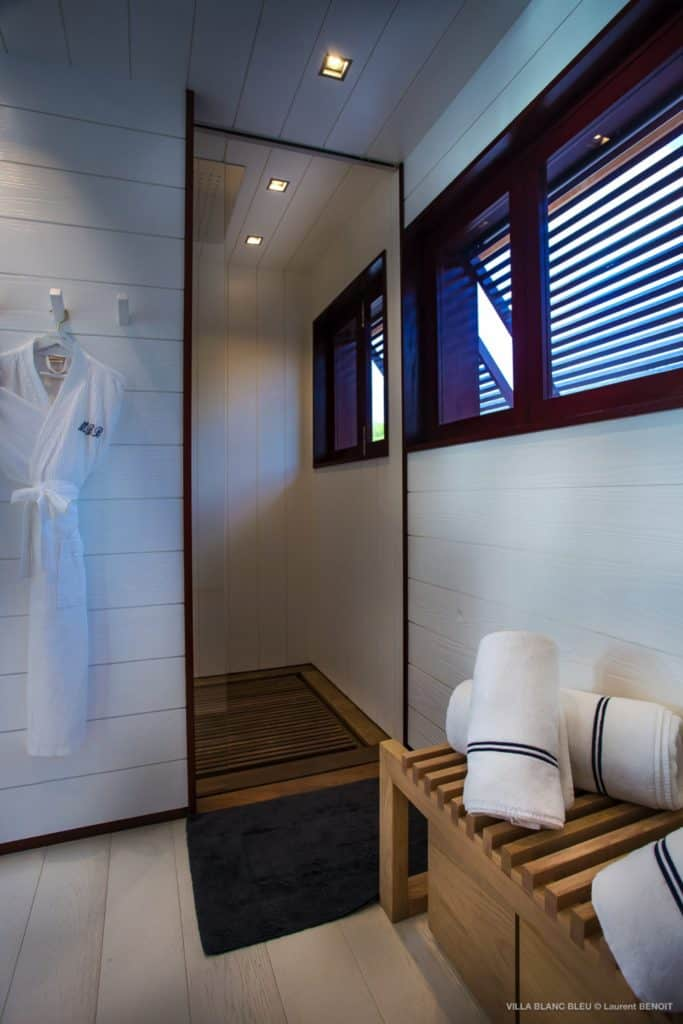 Spa Villa Blanc Bleu St Barths