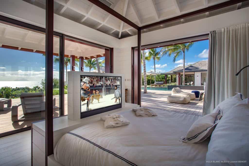 Tv Villa Blanc Bleu St Barths