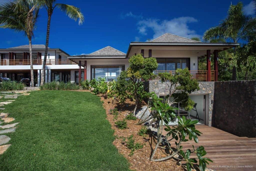 Garden Villa Blanc Blue St Barths