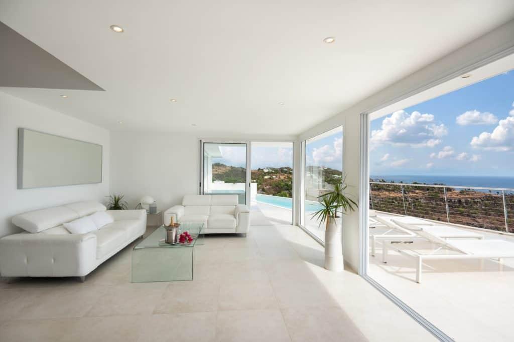 Livingroom with Ocean view