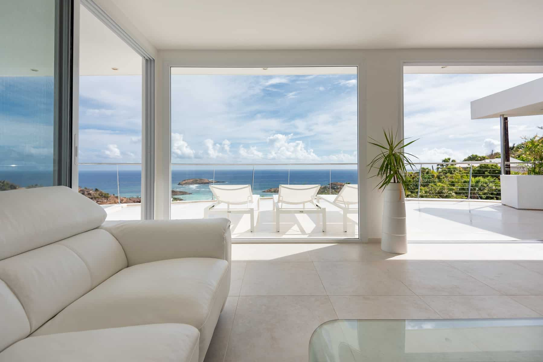 Couch with Ocean view