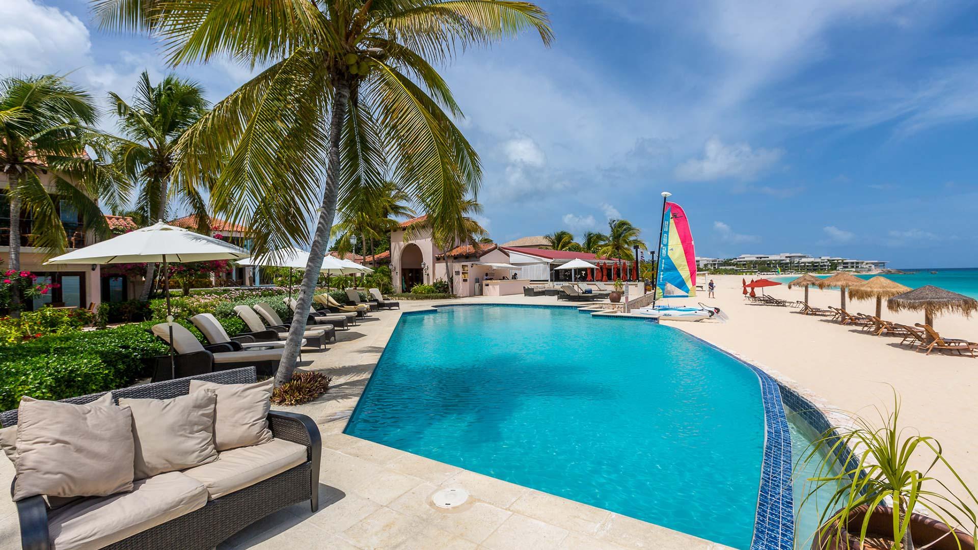 frangipani pool beach