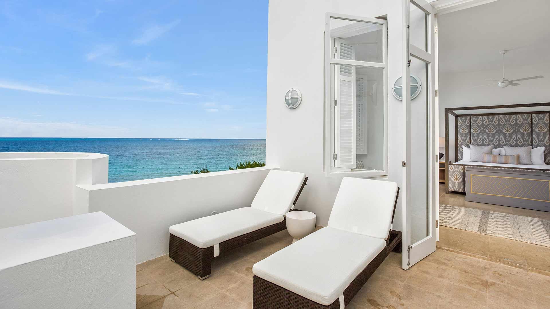 Long Bay  Anguilla Sand VILLA terrace