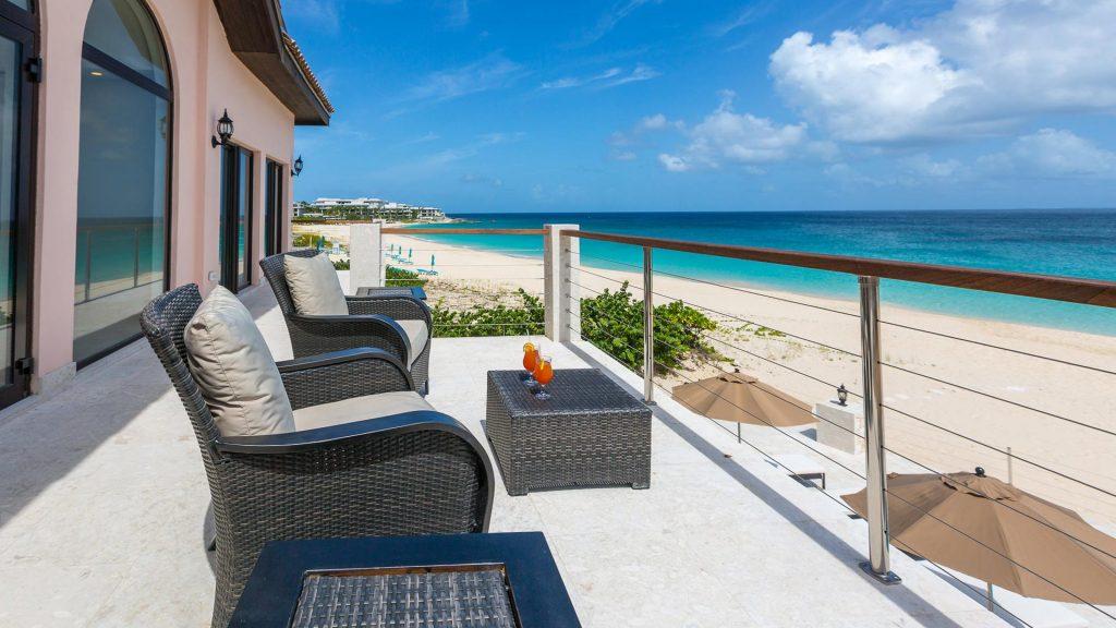 frangipani villa beach terrace