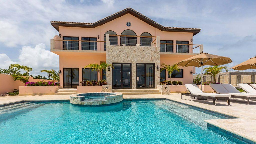 frangipani exterior pool