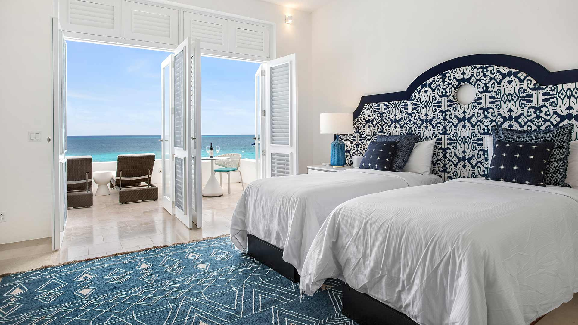 Long Bay Villas Anguilla Sea bedrm