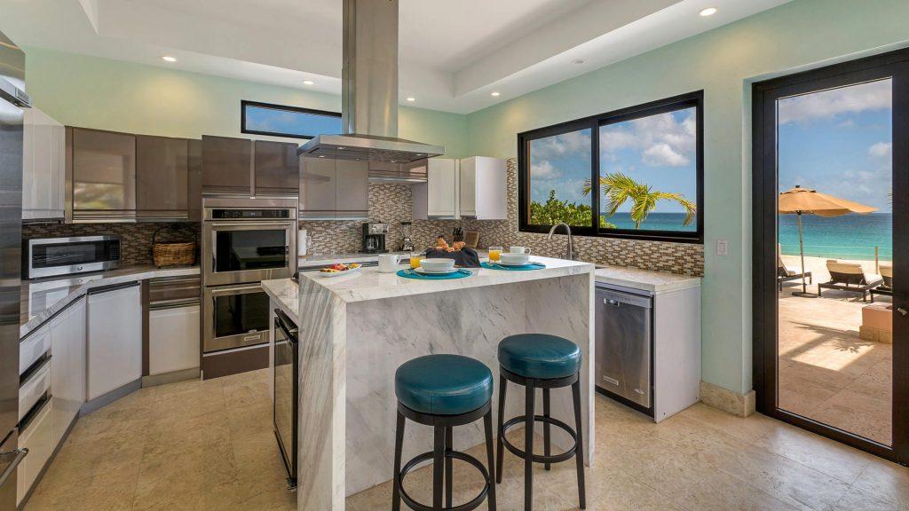 frangipani villa kitchen
