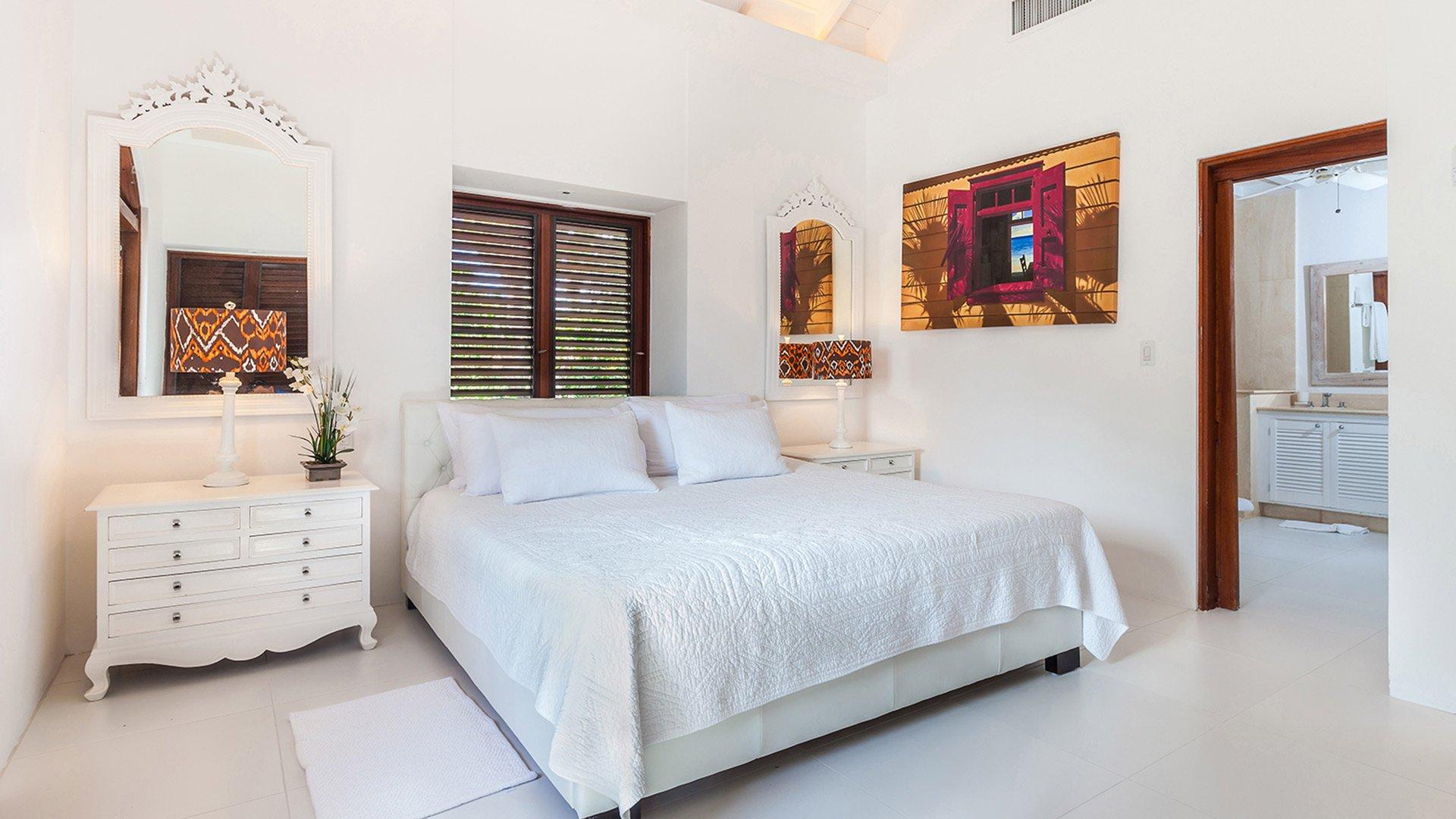 Indigo Villa Anguilla Rental Properties in Paradise bedroom